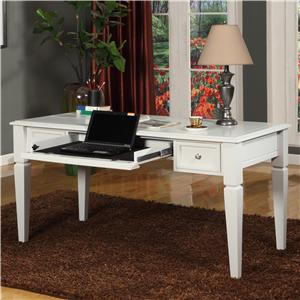 "60"" Writing Desk with Drop Front Keyboard Drawer and 2 Task Drawers"