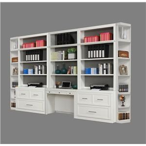 8 PC Office Wall Unit