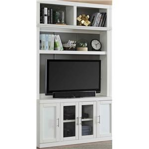 56 Inch TV Console and Hutch