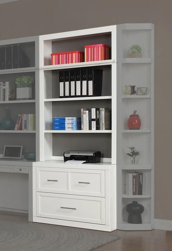 Catalina 40 Inch Lateral File and Hutch by Parker House at Johnny Janosik
