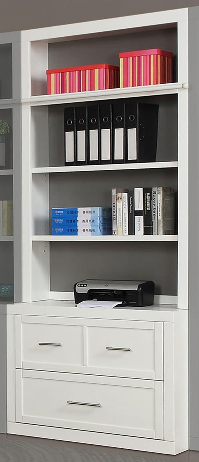 Catalina Lateral File and Hutch by Parker House at Suburban Furniture