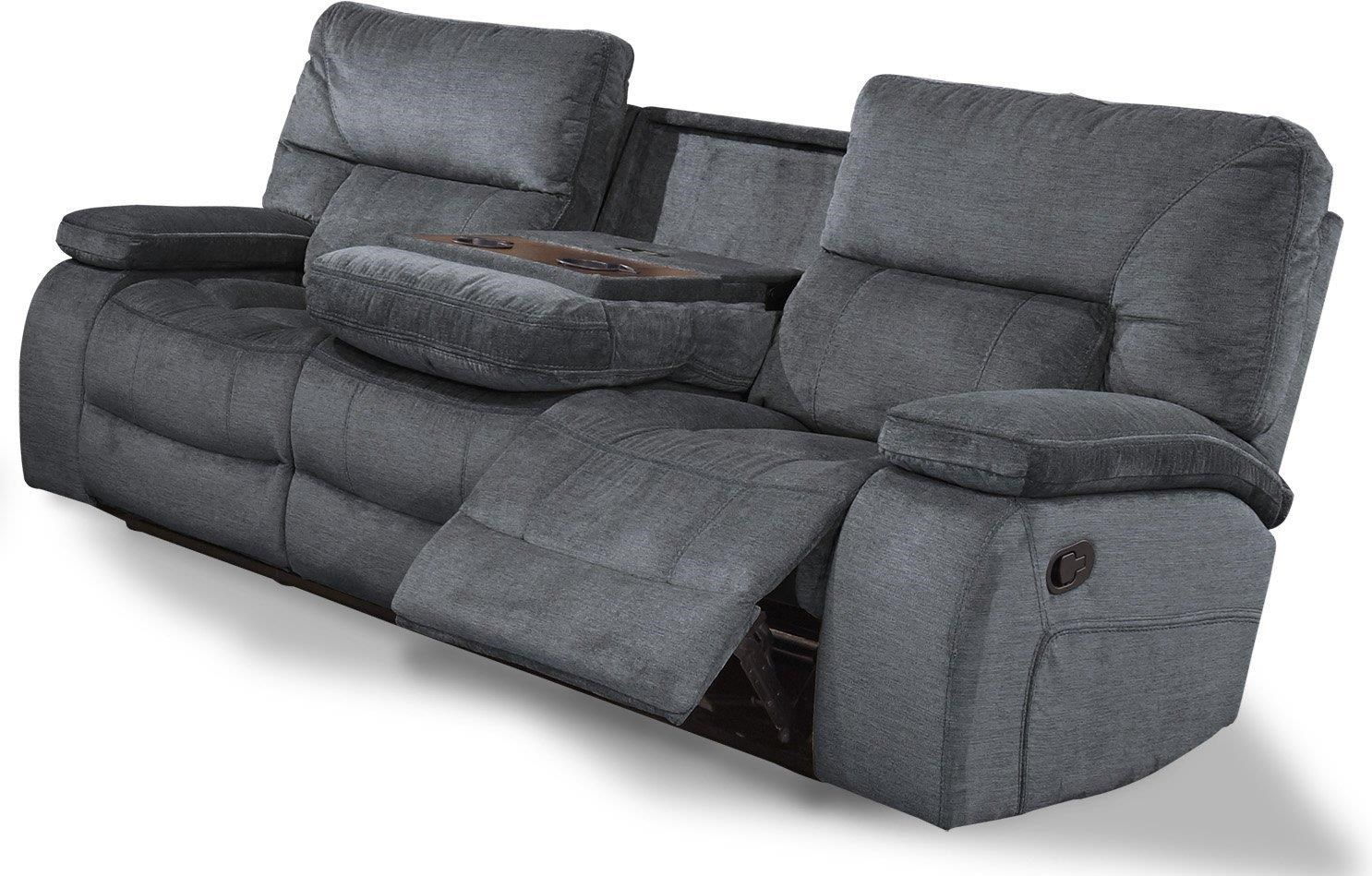 chapman Reclining sofa with drop down table by Parker House at Johnny Janosik