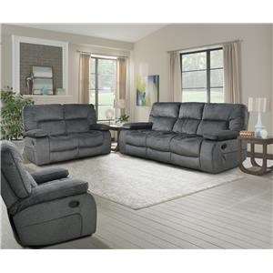 triple reclining sofa