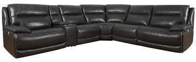 Colossus 6 Piece Reclining Sectional Sofa by Parker House at Johnny Janosik