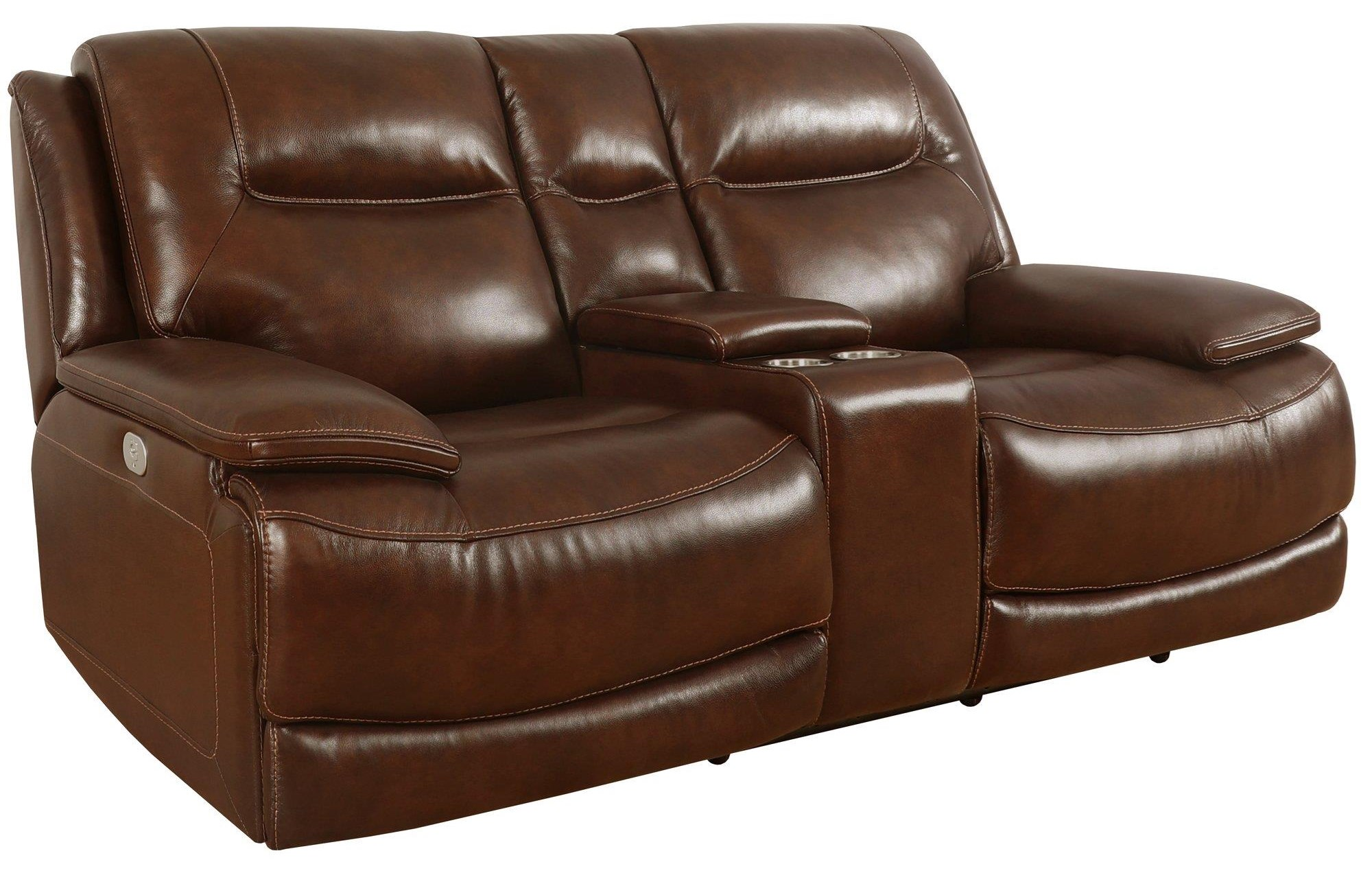 Colossus Power Console Loveseat by Parker House at Johnny Janosik