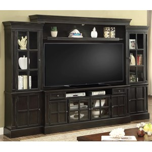 """4 Piece Entertainment Wall with 72"""" Console"""