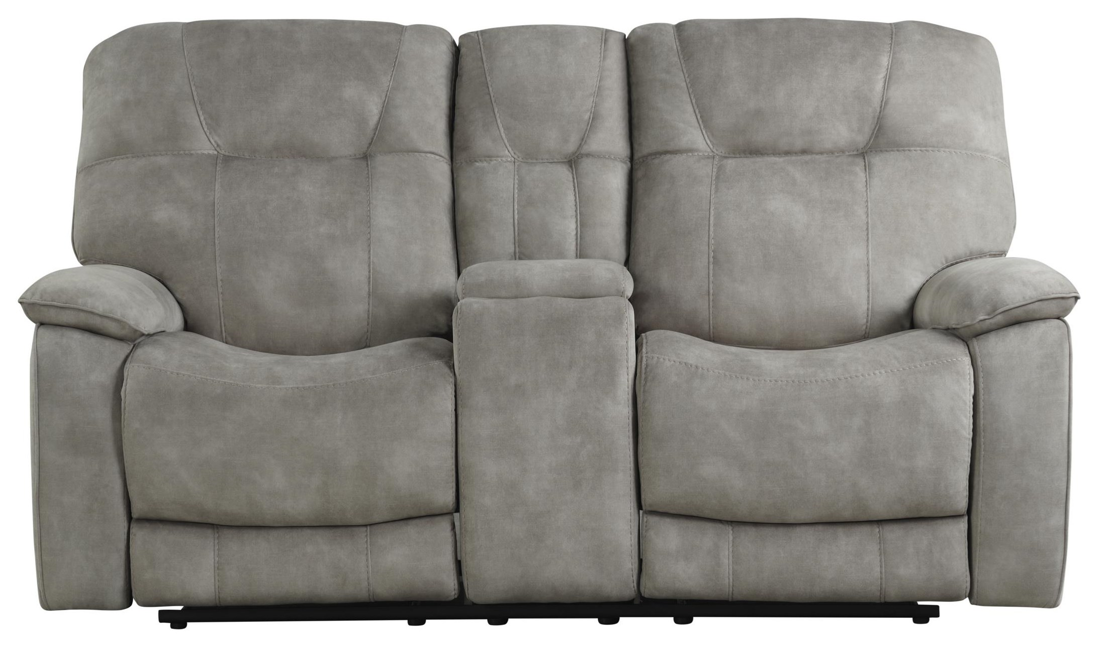 Cooper SHADOW NATURAL Manual Console Loveseat by Parker House at Johnny Janosik