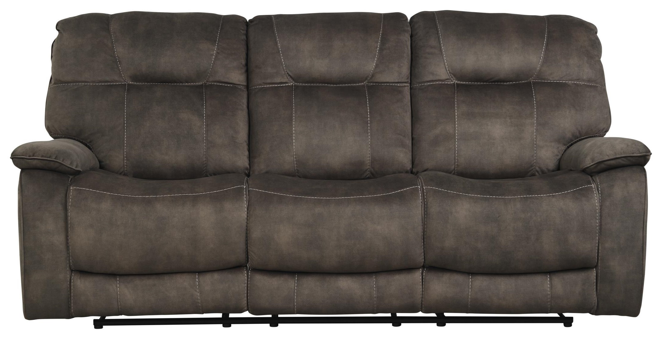 Cooper SHADOW BROWN Manual Triple Reclining Sofa by Parker House at Johnny Janosik