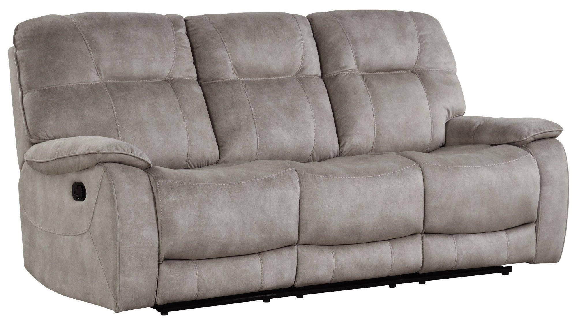 Cooper SHADOW NATURAL Manual Triple Reclining Sofa by Parker House at Johnny Janosik