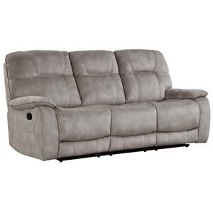 SHADOW NATURAL Manual Triple Reclining Sofa