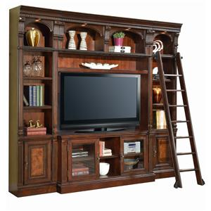 Spacesaver Wall with 60-Inch Entertainment Console