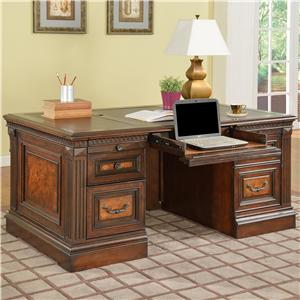 Parker House Corsica Double Pedestal Executive Desk