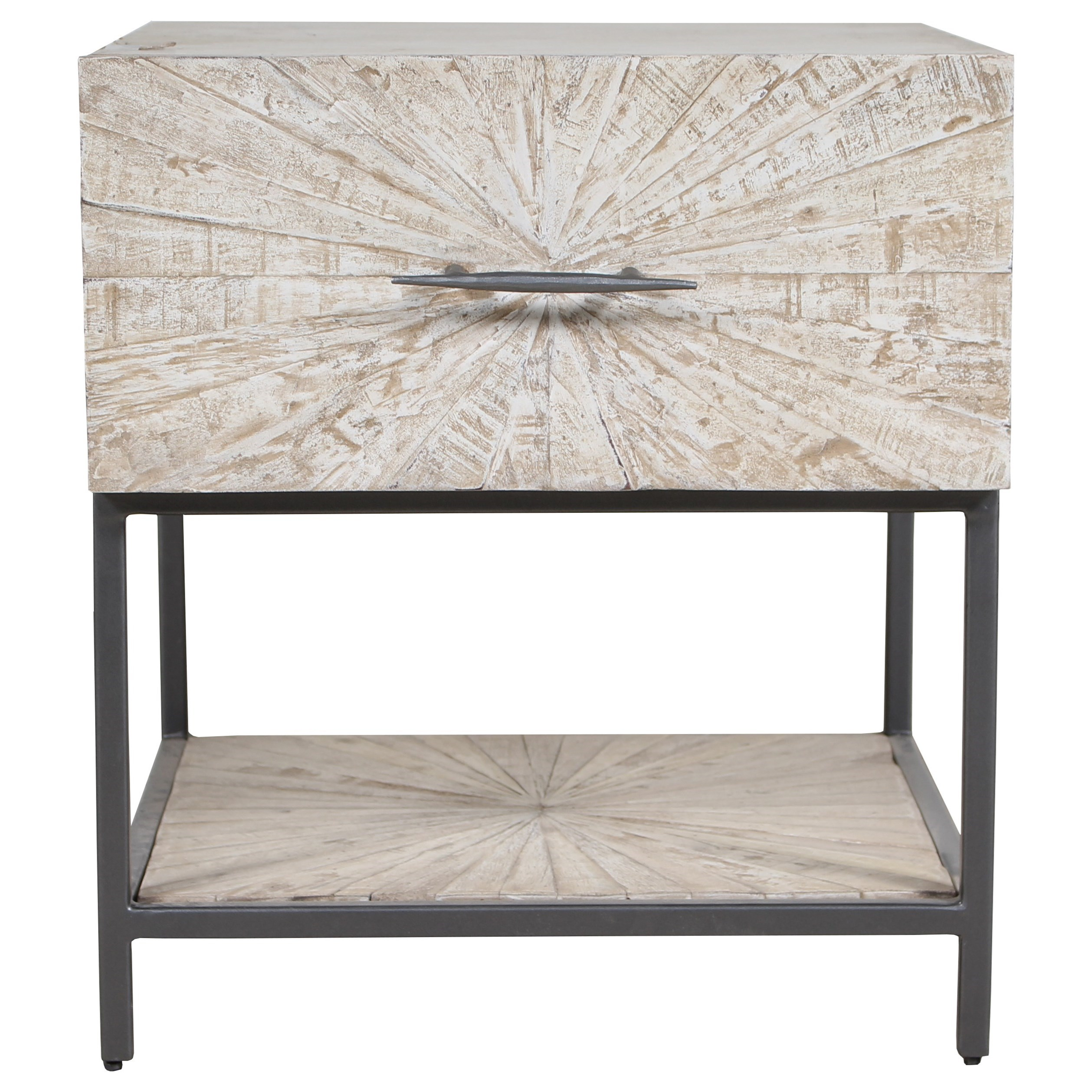 Crossings Monaco End Table by Parker House at Zak's Home