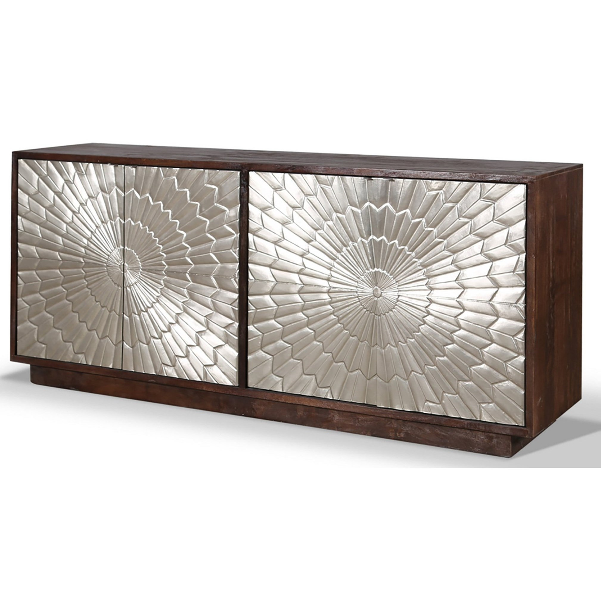 Crossings Palace TV Console by Parker House at Wilson's Furniture