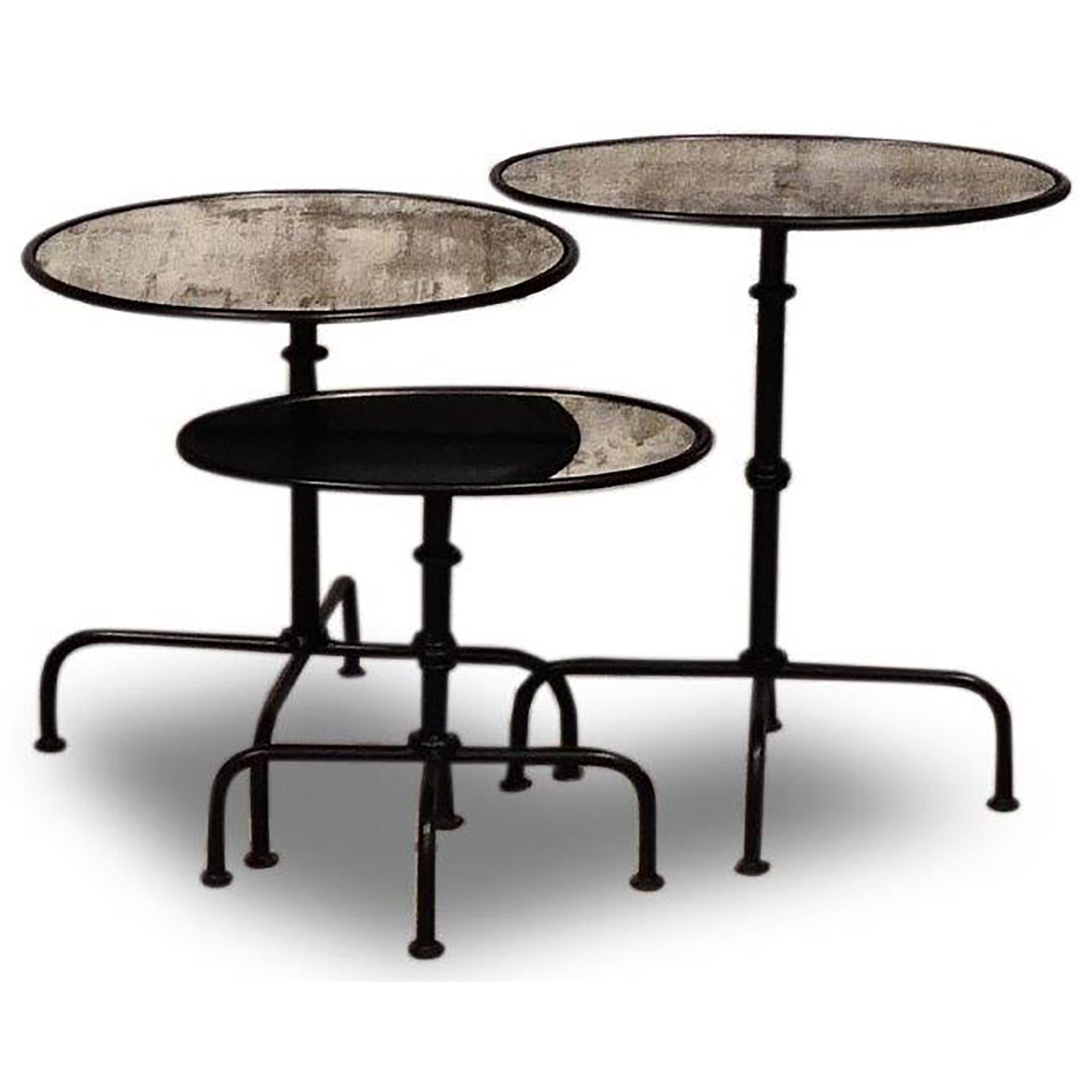 Crossings The Underground Accent Table Set of 3 by Parker House at Zak's Home