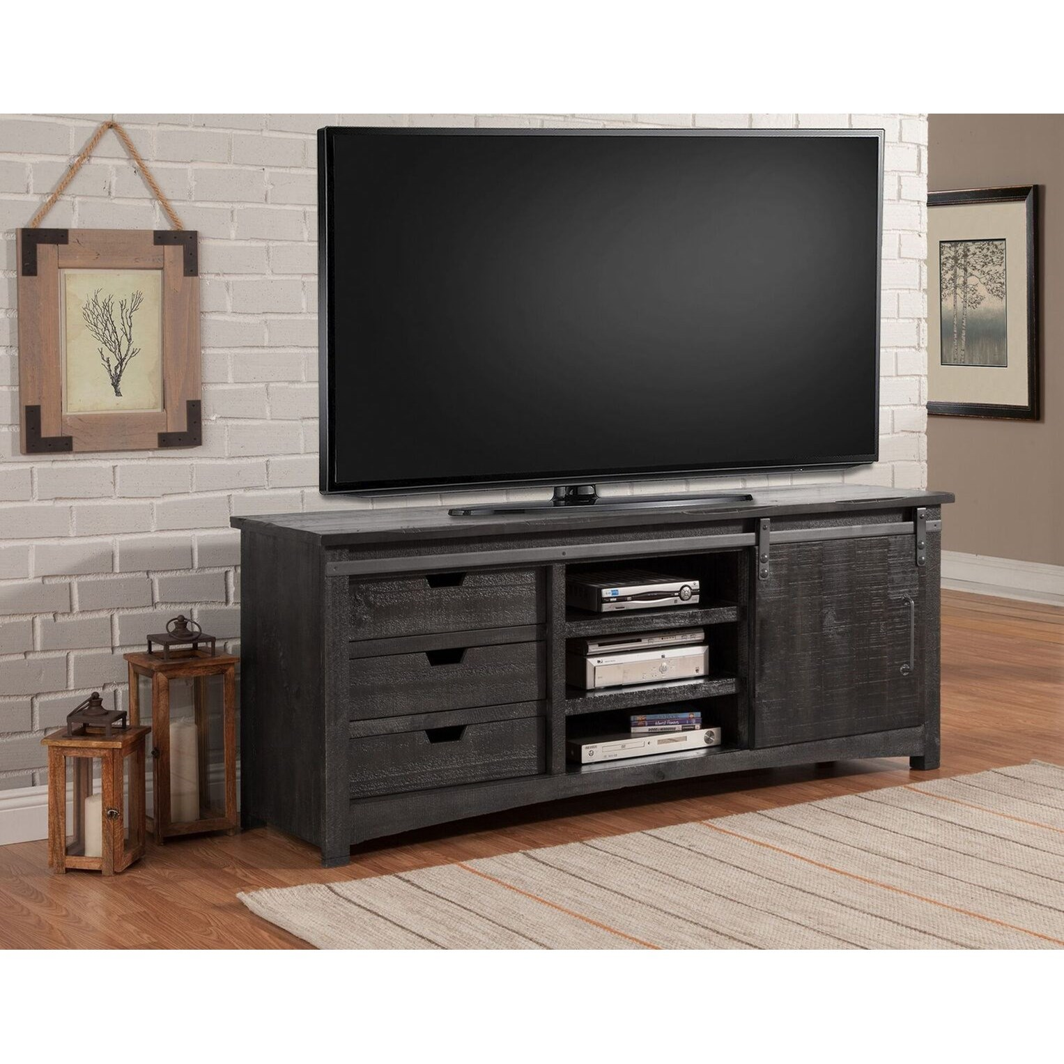 Durango 76 Inch TV Console by Parker House at Zak's Home