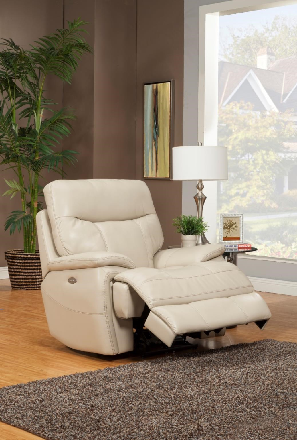 Dylan Creme RECLINER POWER by Parker House at Dream Home Interiors