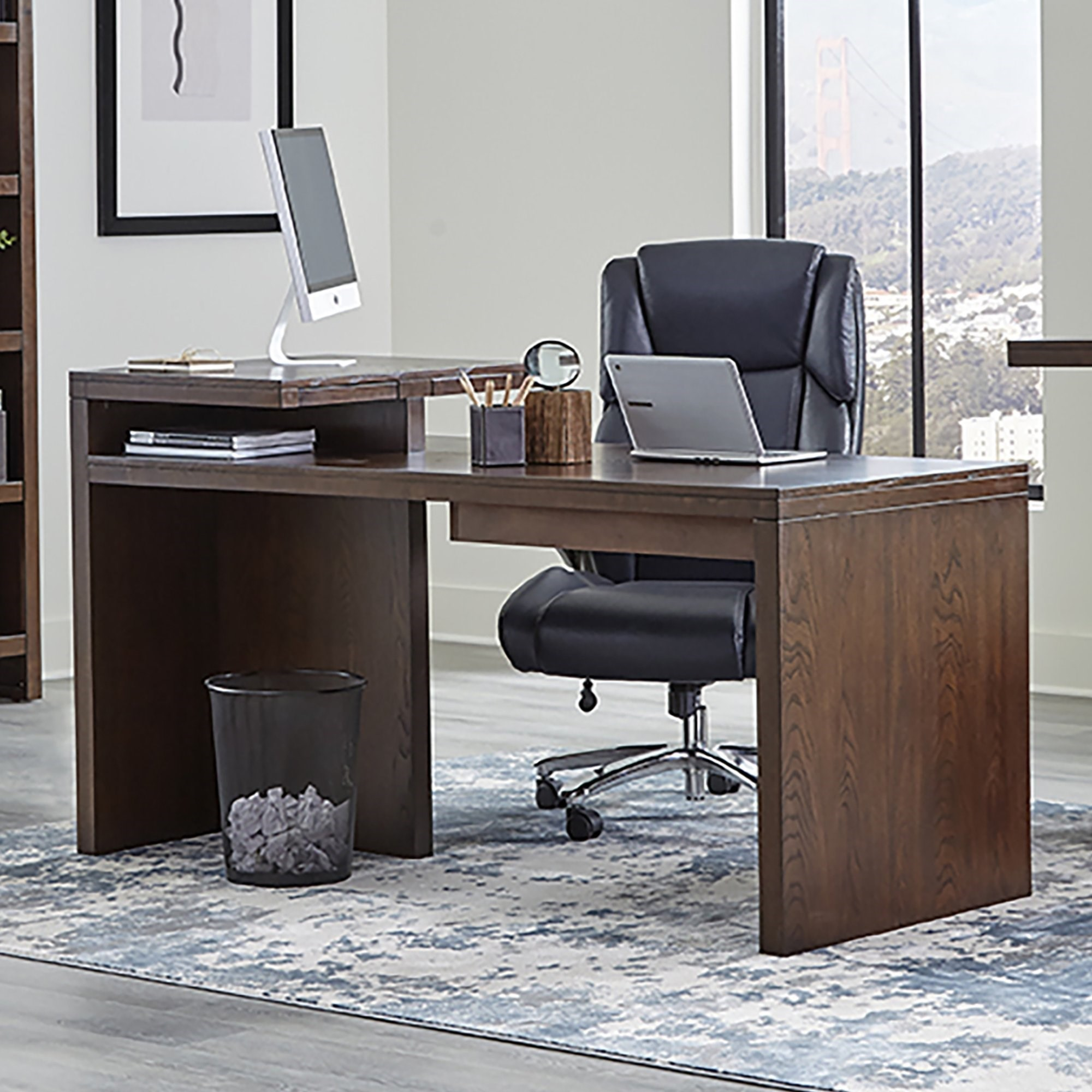 Elevation 66 in. Writing Desk by Parker House at Coconis Furniture & Mattress 1st