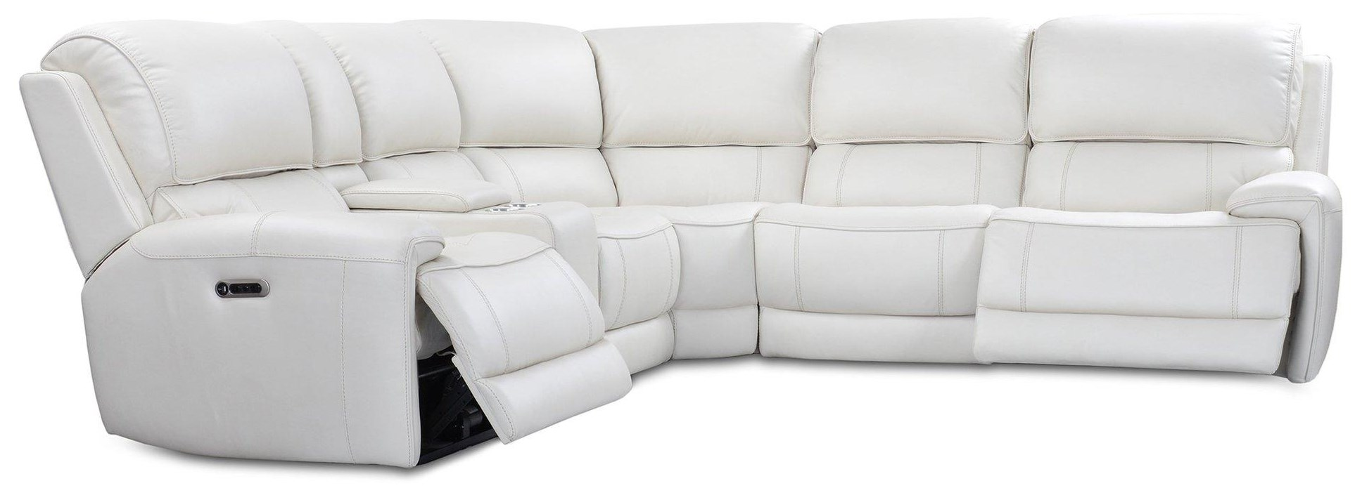 Empire SIX PIECE POWER SECTIONAL by Parker House at Johnny Janosik