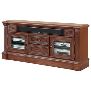 "65"" TV Console with Antique-styled Hardware"