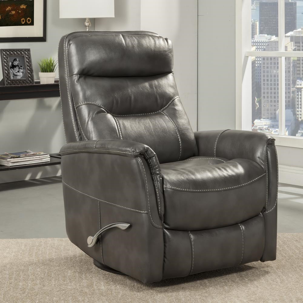 Gemini Flint Swivel Glider Recliner by Parker House at Beck's Furniture