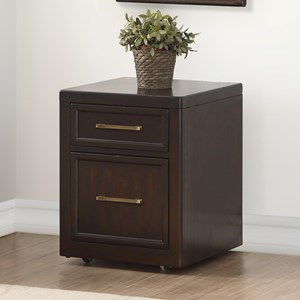 Rolling File Cabinet with Two Drawers