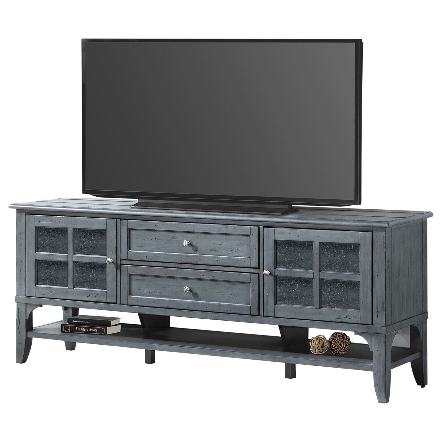 Highland 76 in. TV Console by Parker House at Zak's Home