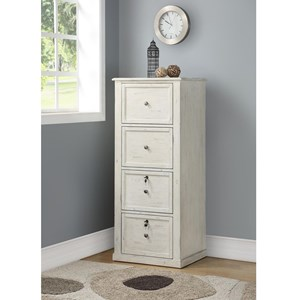 Tall 4 Drawer File Cabinet
