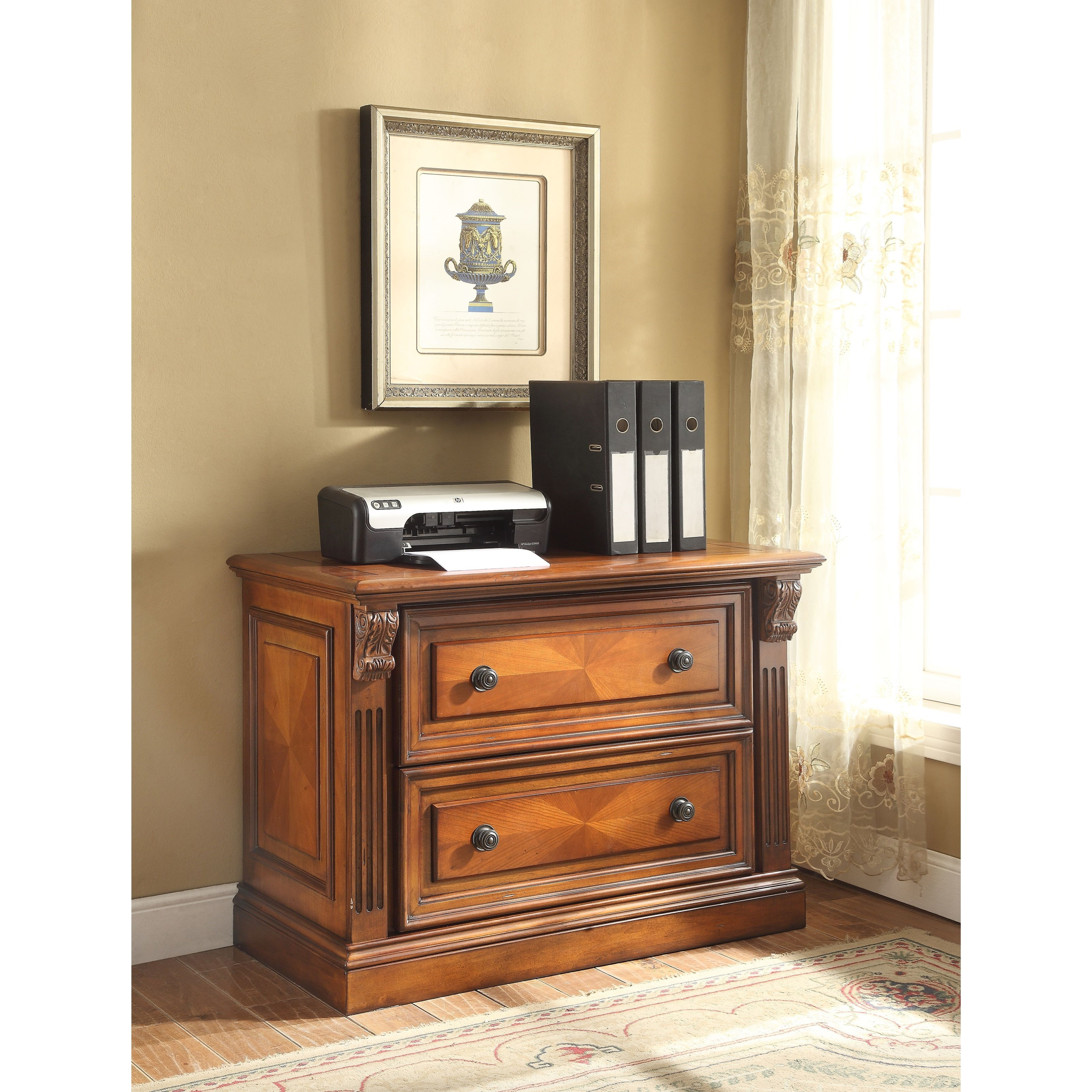 Huntington 2 Drawer Lateral File by Parker House at Westrich Furniture & Appliances