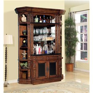 Parker House Leonardo 4pc Bar Base & Hutch