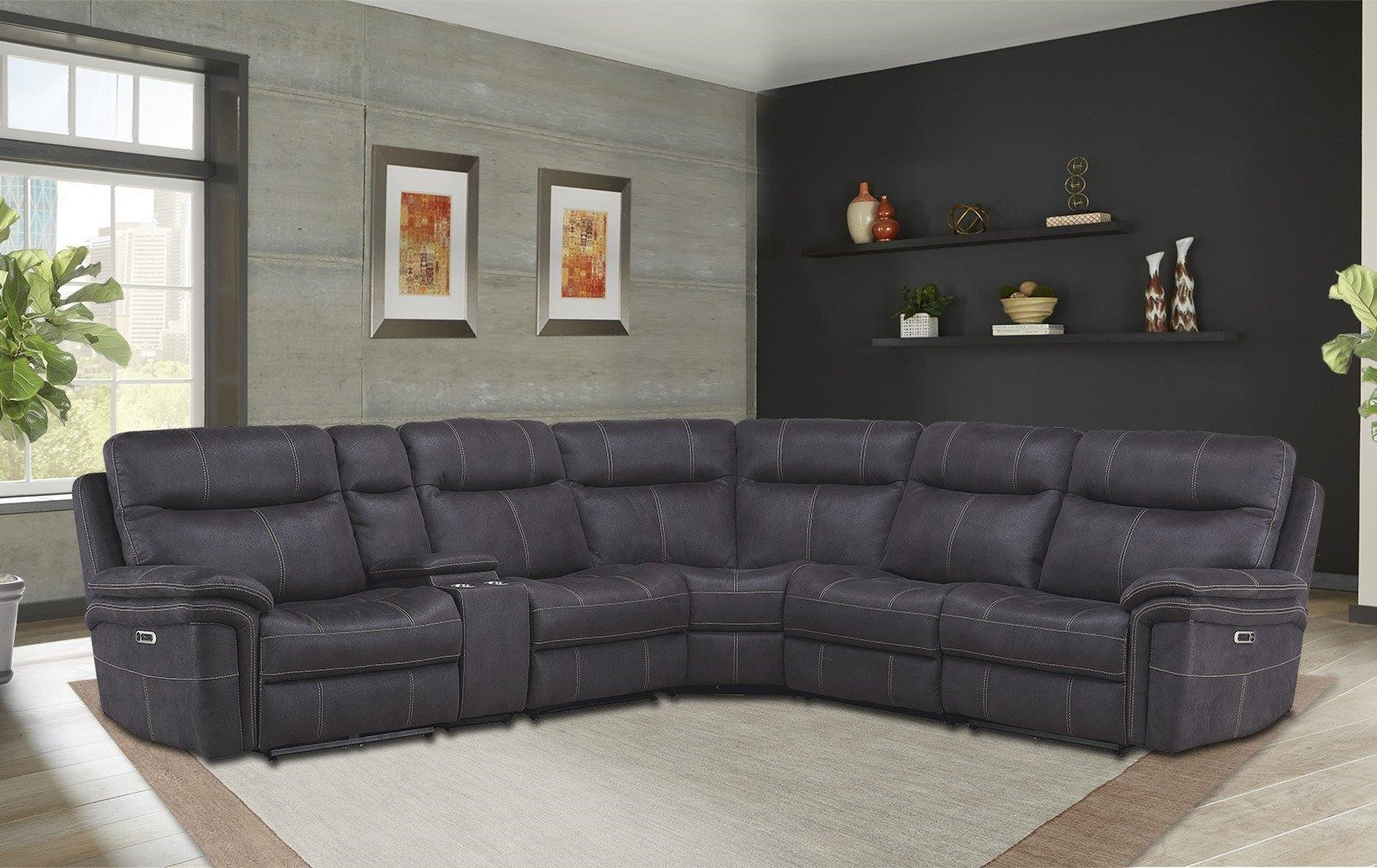 mason 6 PIECE POWER SECTIONAL by Parker House at Johnny Janosik