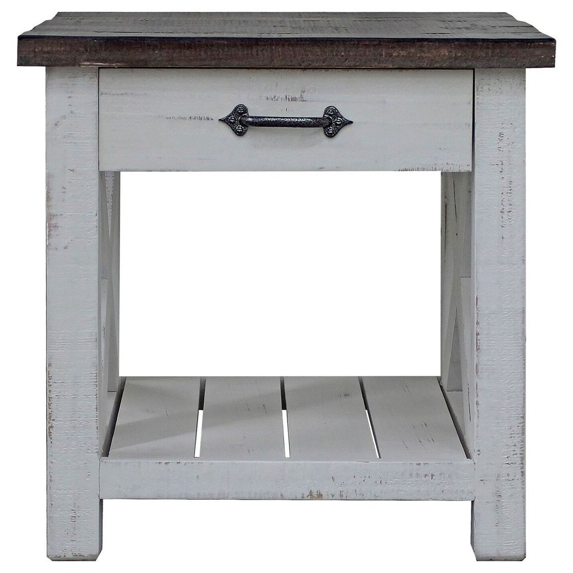 Mesa End Table by Parker House at Zak's Home