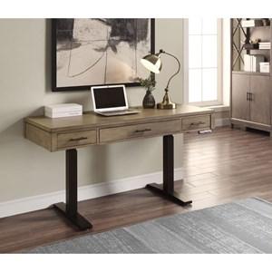 "Casual 58"" Power Lift Desk"