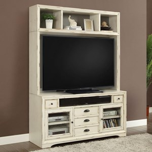 "63"" TV Stand with Hutch"
