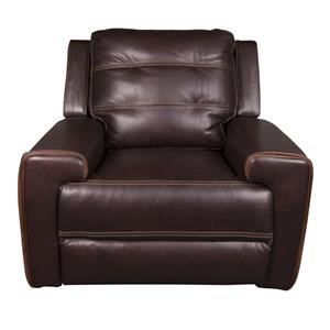 Leather-Match Power Recliner w/ power headrest and USB
