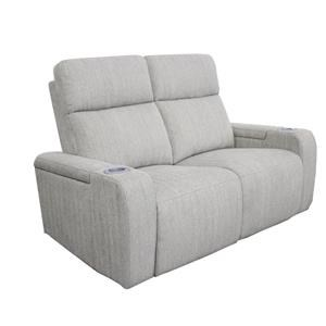 Power Reclining Loveseat with Cupholders & Armrest Storage
