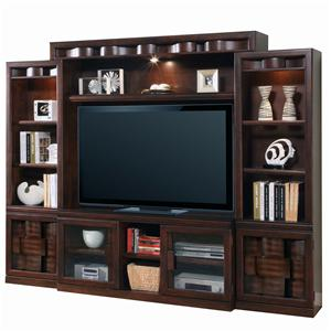 Parker House Oslo 4-Piece Oslo Stationary Entertainment Wall