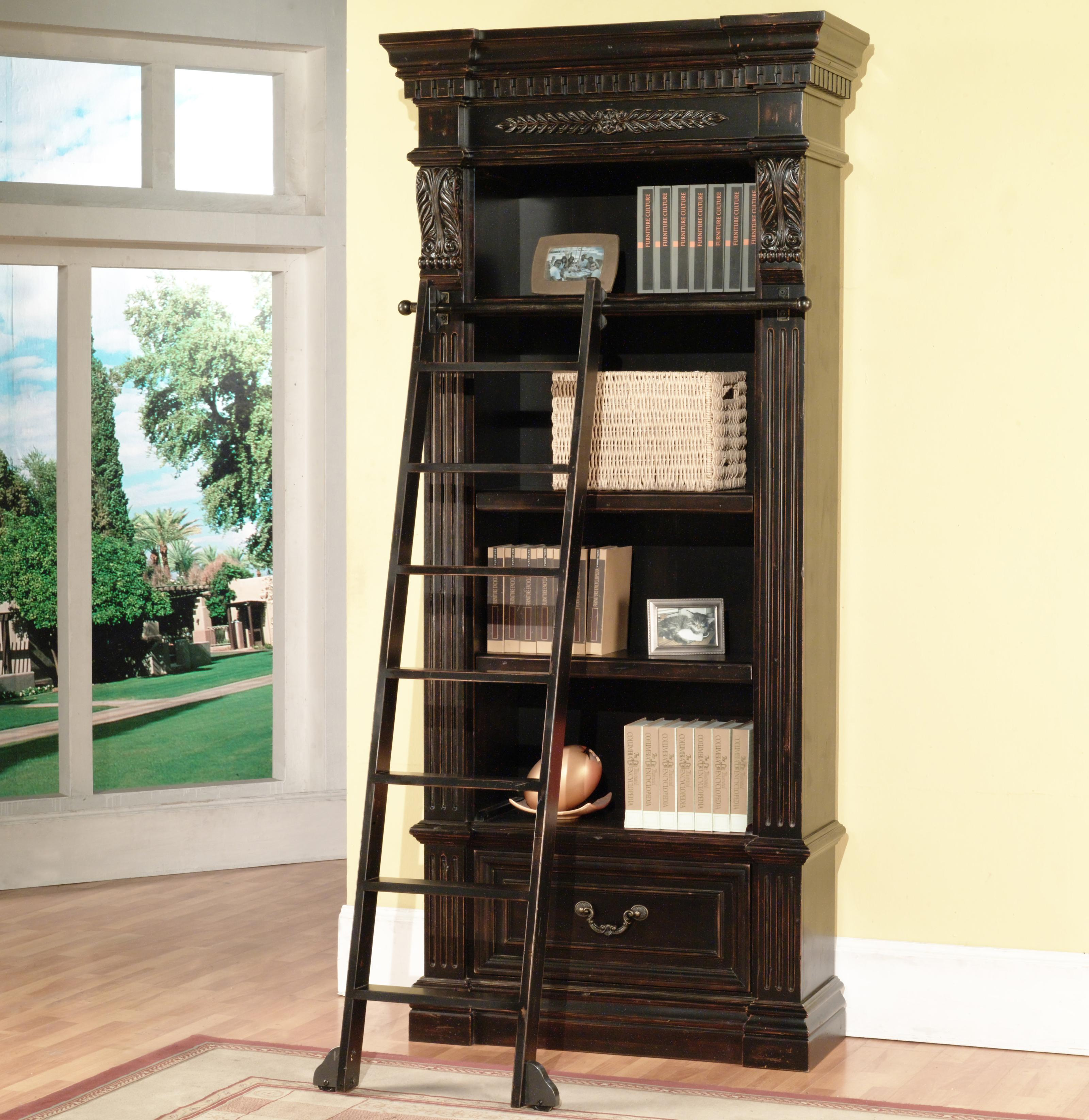 Palazzo  Museum Bookcase with Ladder by Parker House at Zak's Home