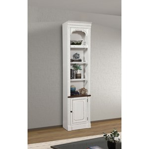 Relaxed Vintage 22 in. Open Top Bookcase