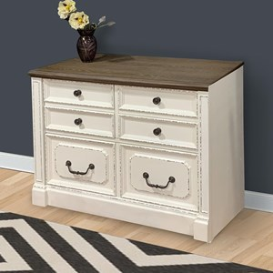 Relaxed Vintage 2-Drawer Lateral File