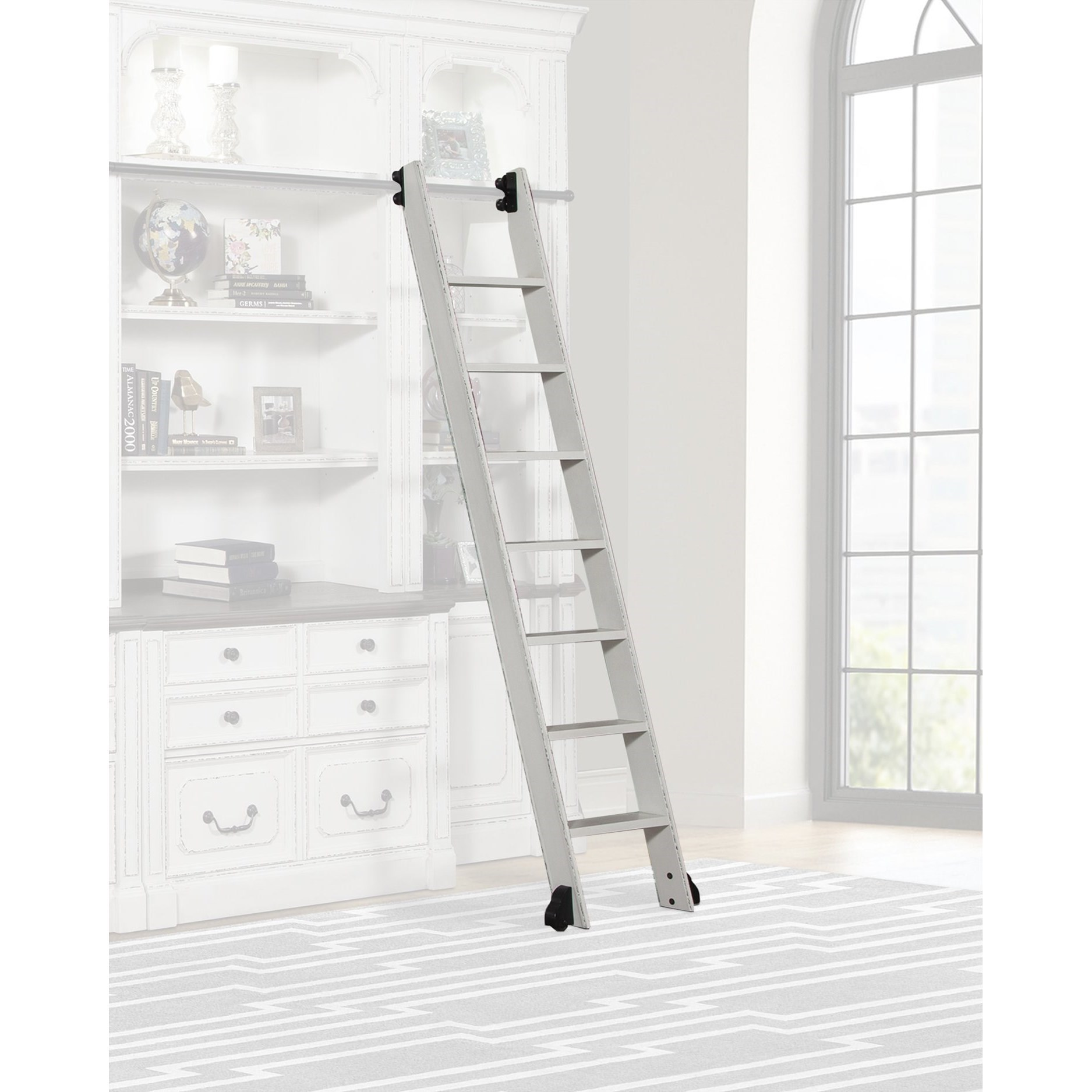 Provence Library Ladder -only for use w/ Library Wall by Parker House at Zak's Home