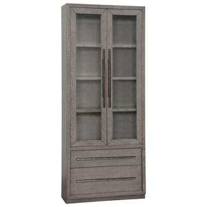 36 in. Glass Door Cabinet