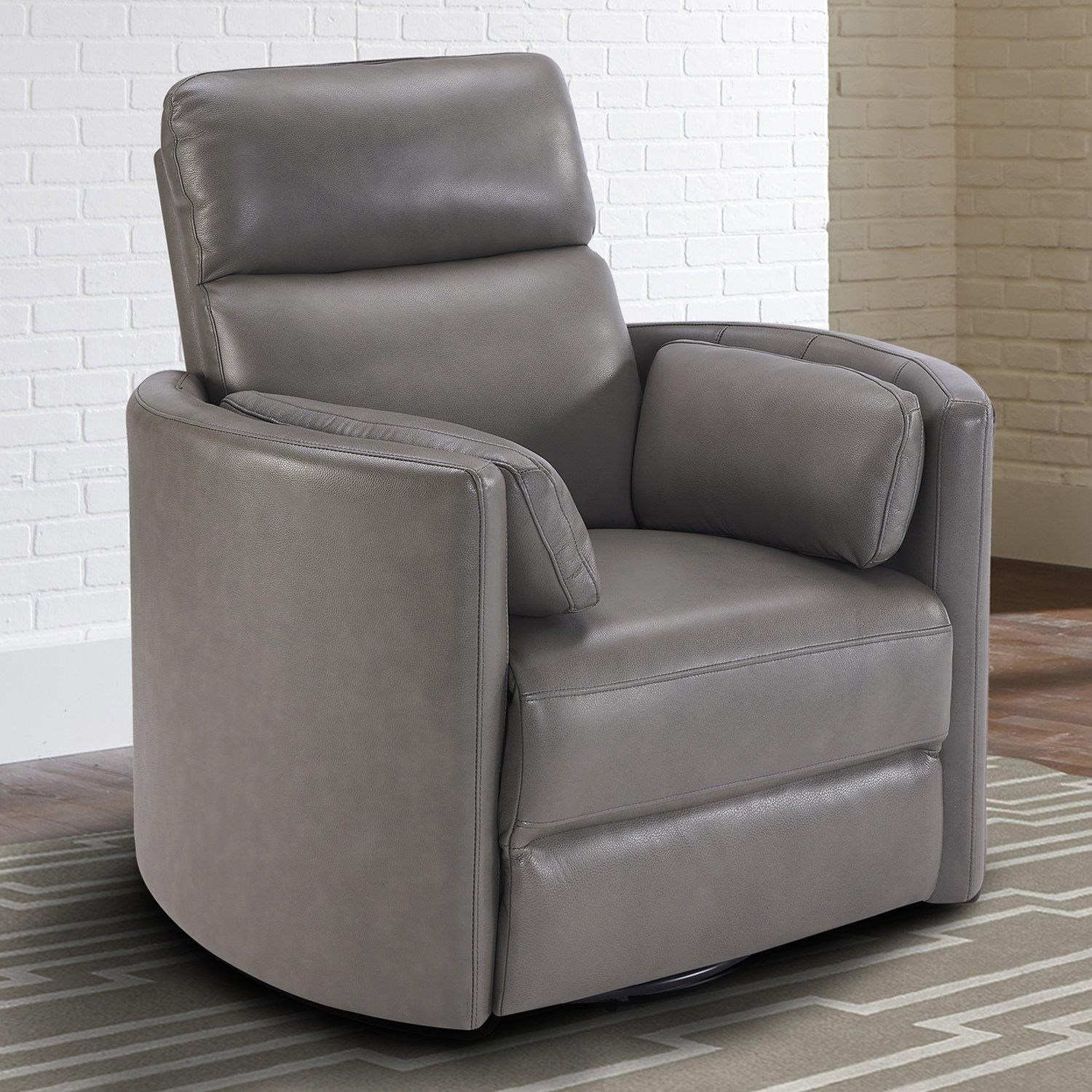 radius Power Cordless Swivel Glider Recliner by Parker House at Johnny Janosik
