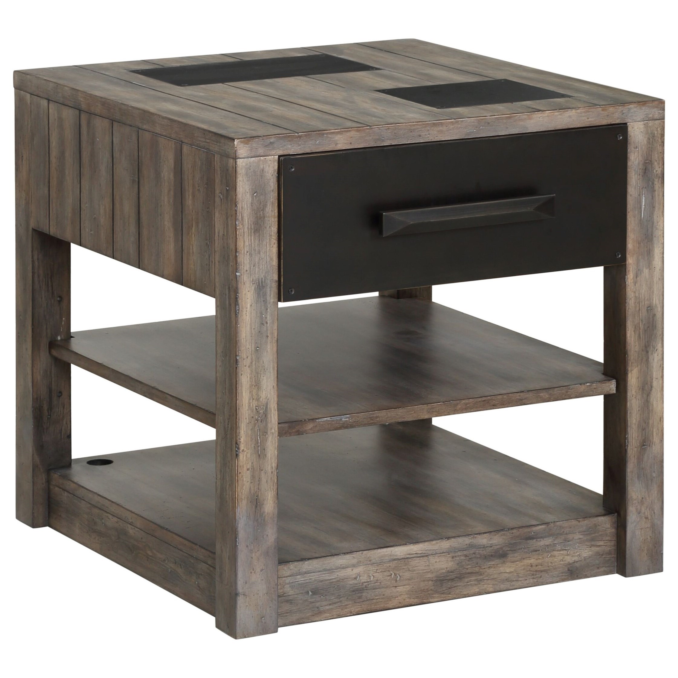 River Rock End Table by Parker House at Zak's Home