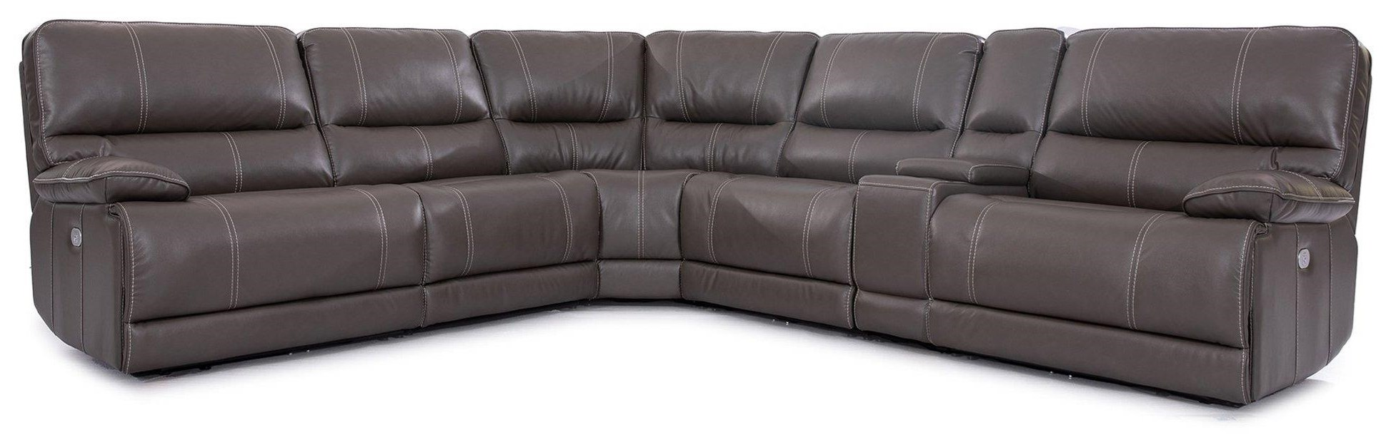 Shelby SIX PIECE POWER SECTIONAL by Parker House at Johnny Janosik