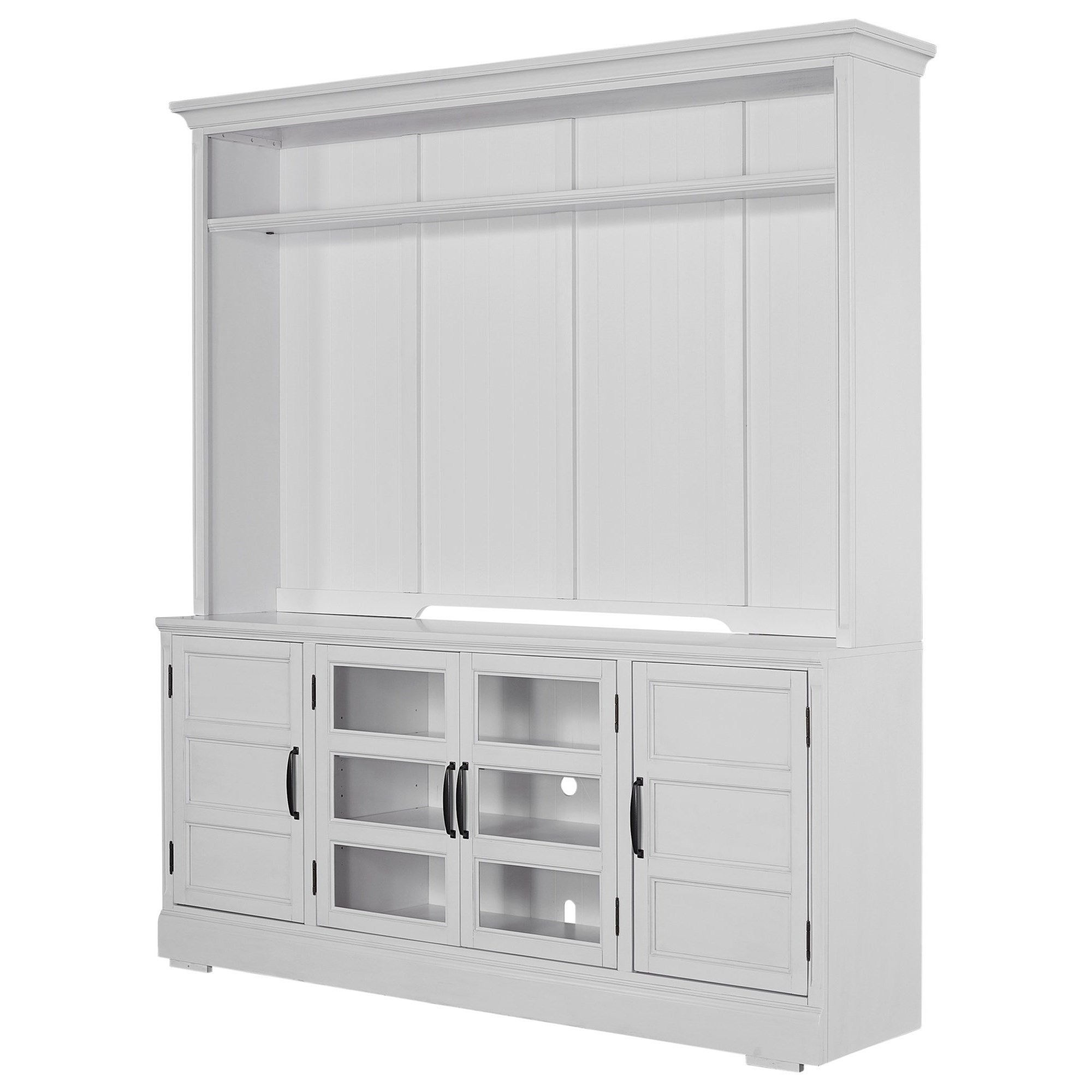 Shoreham 76 inch TV Console & Hutch by Parker House at Zak's Home