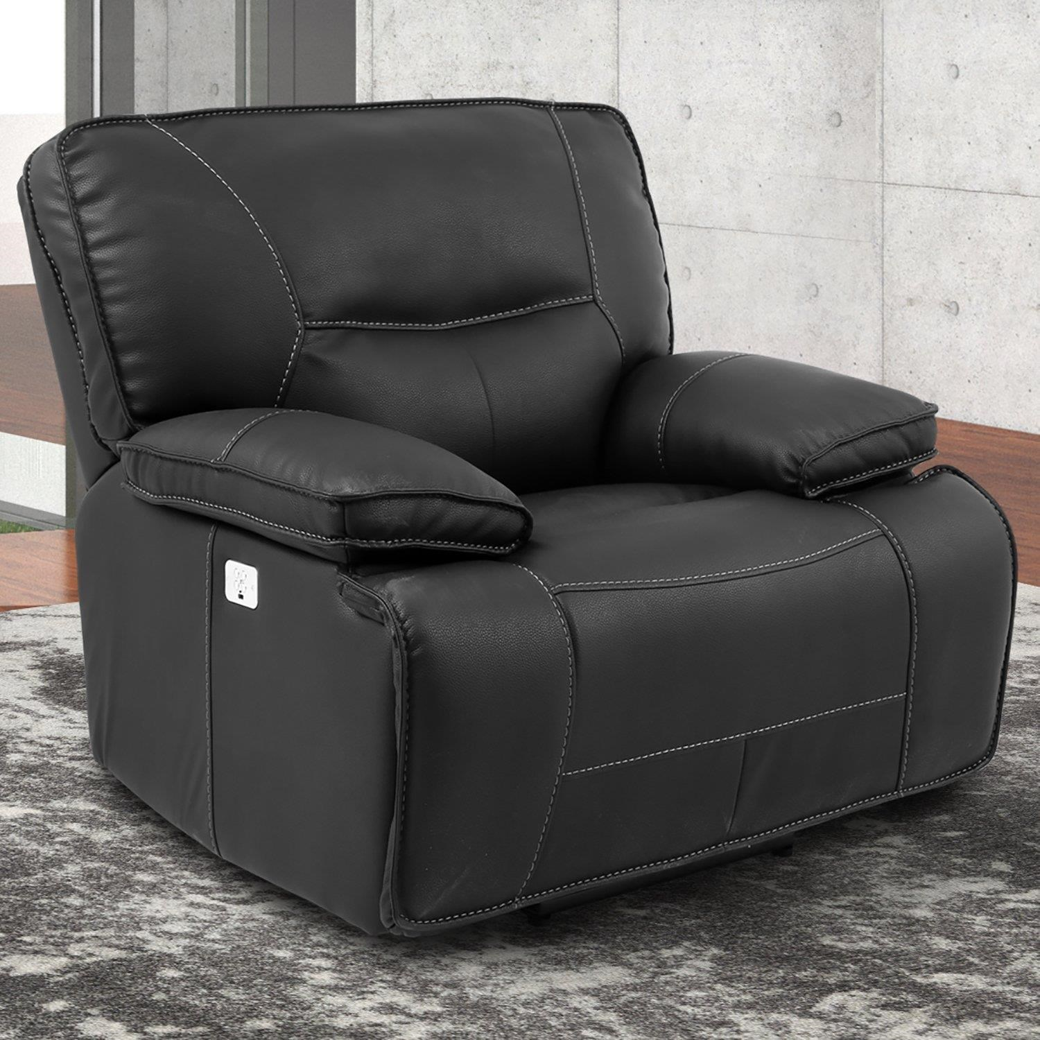 Spartacus BLACK Power Recliner by Parker House at Johnny Janosik