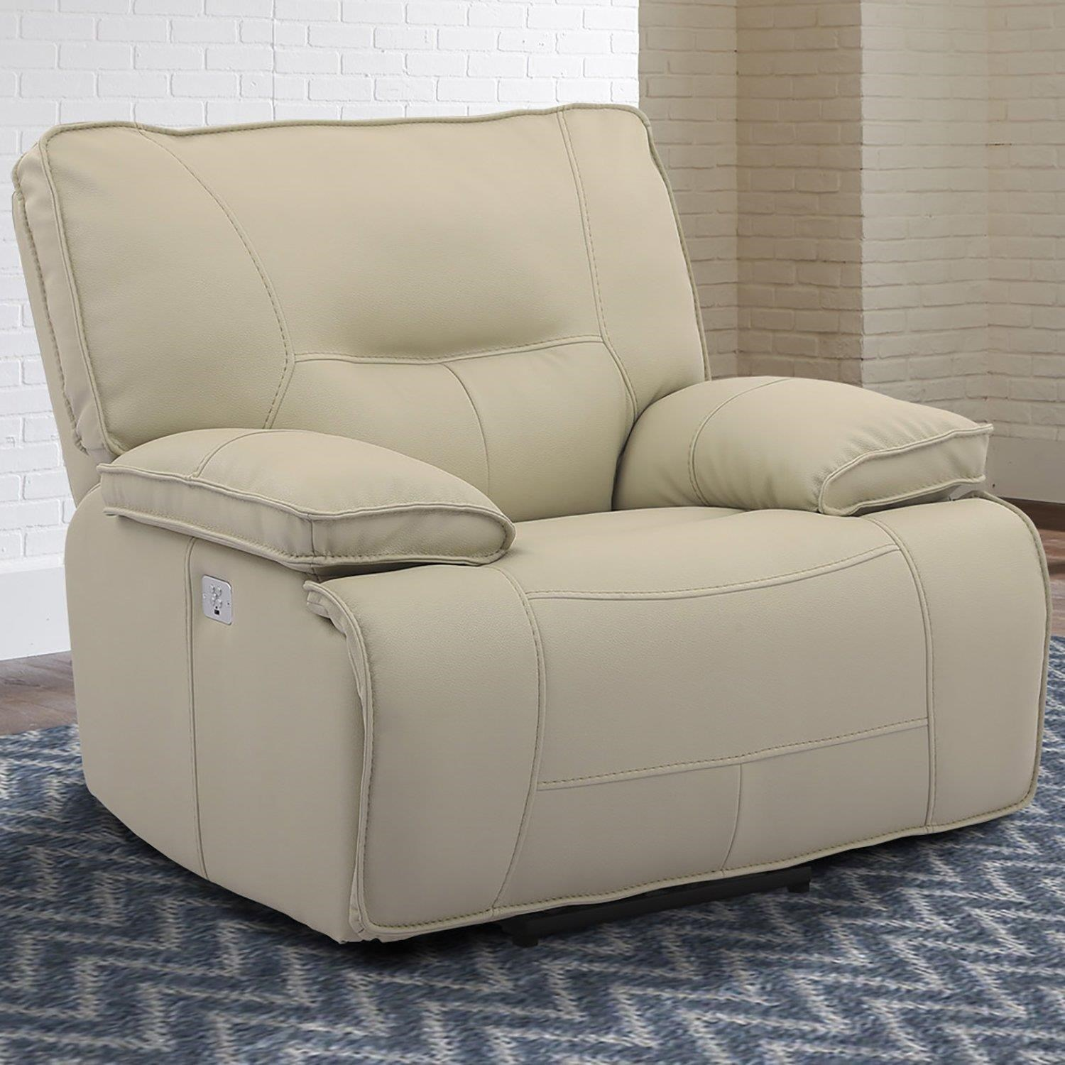 Spartacus OYSTER Power Recliner by Parker House at Johnny Janosik