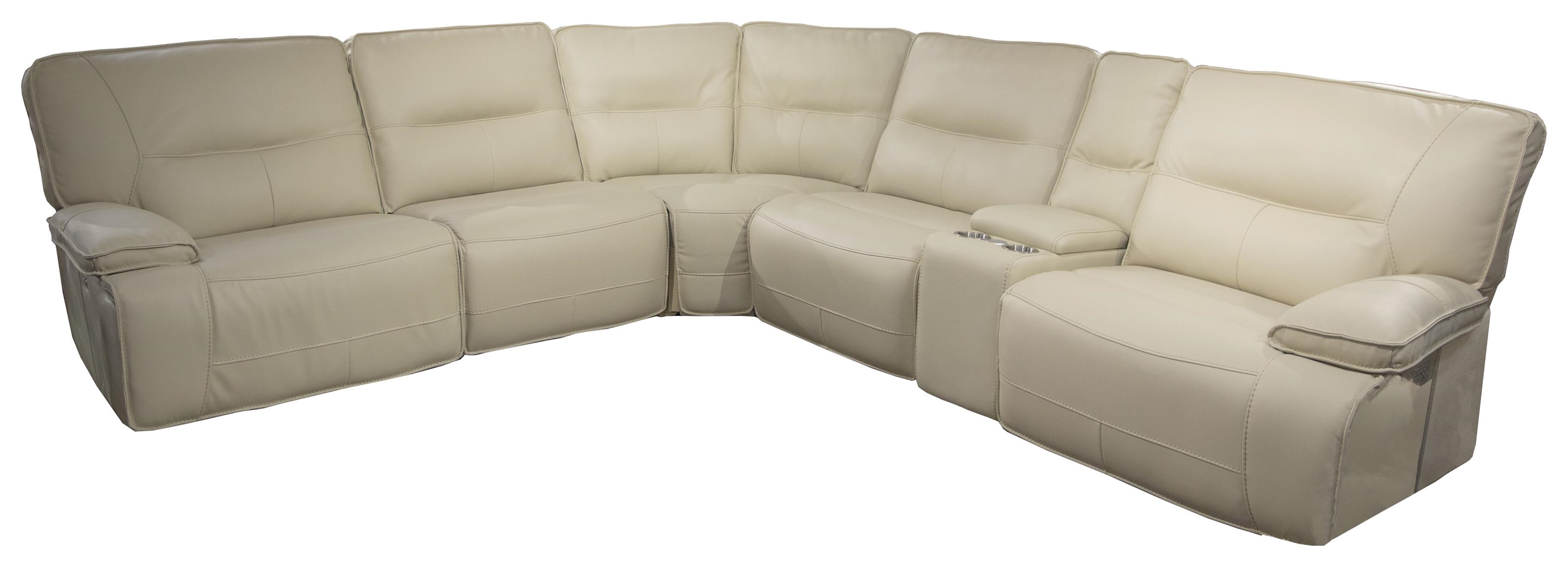 Spartan Spartan Power Sectional Sofa by Parker House at Morris Home