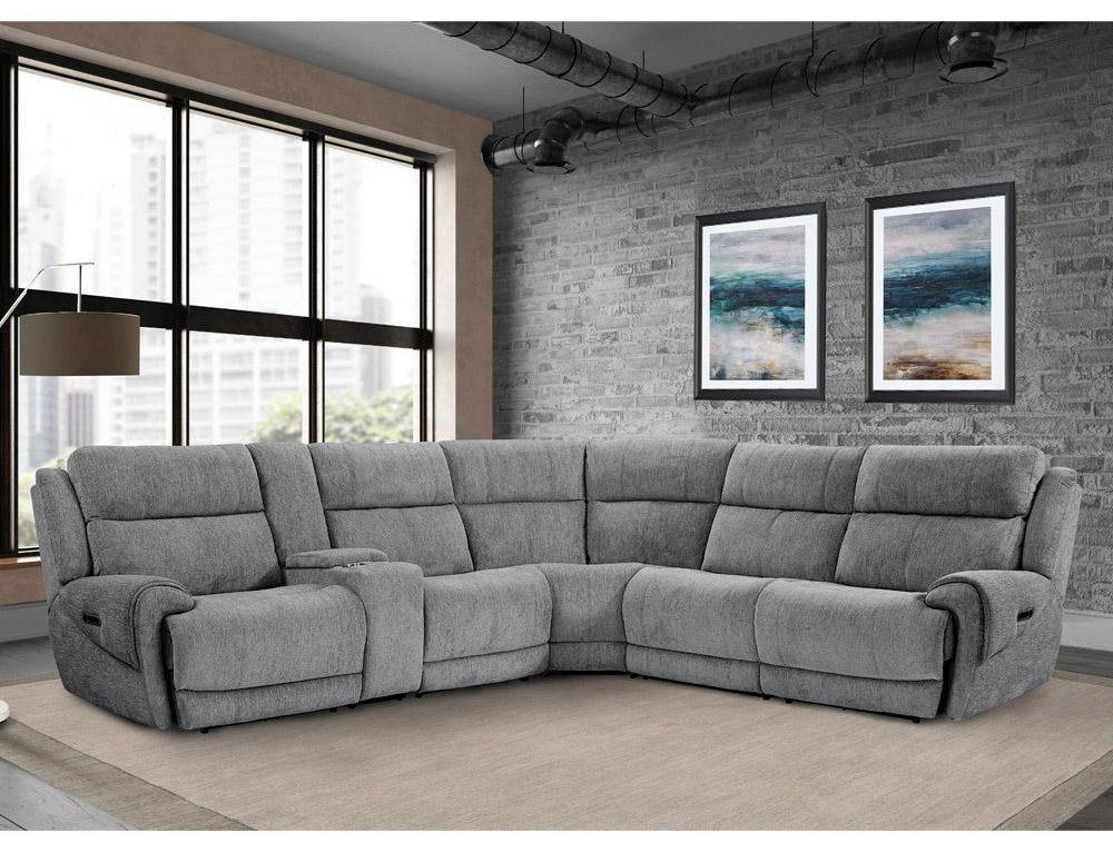 spencer 6 PIECE POWER SECTIONAL by Parker House at Johnny Janosik